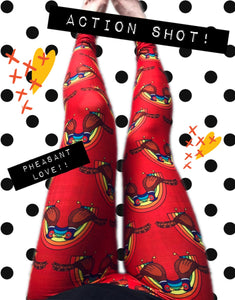 Love Birds - Pheasants - Buttery Soft Leggings