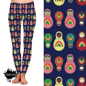 Russian Dolls - Buttery Soft Leggings