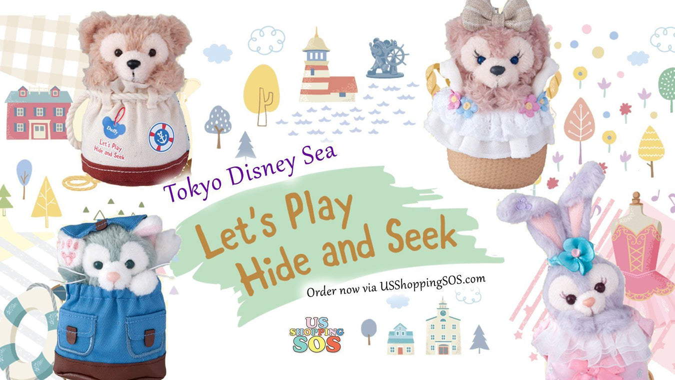 TDR Duffy & Friends Let's Play Hide & Seek Collection