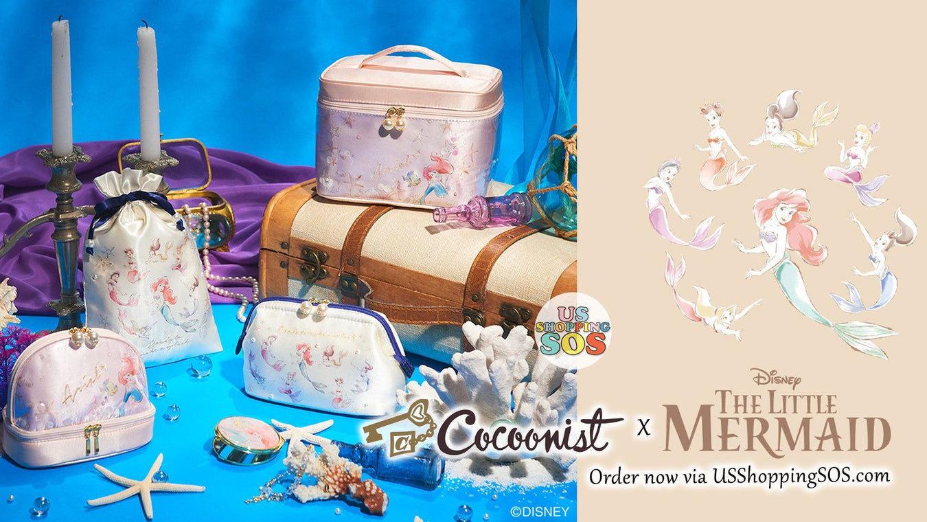 JP Cocoonist x Disney The Little Mermaid Collection