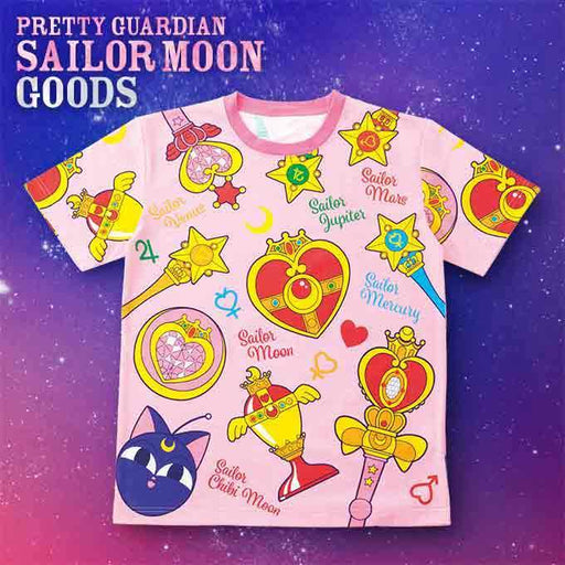 USJ - Pretty Guardian Sailor Moon - T-shirt (All-Over-Print Icon)