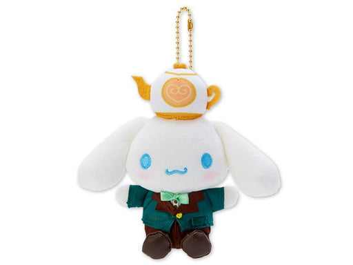 Japan Sanrio Puroland - Restaurant Collection - Plush Keychain x Cinnamoroll