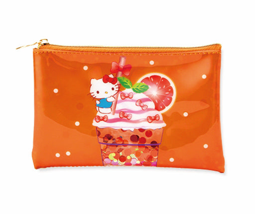 Japan Sanrio Puroland - Dessert Drinks Collection x Hello Kitty Pouch