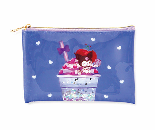 Japan Sanrio Puroland - Dessert Drinks Collection x Kuromi Pouch