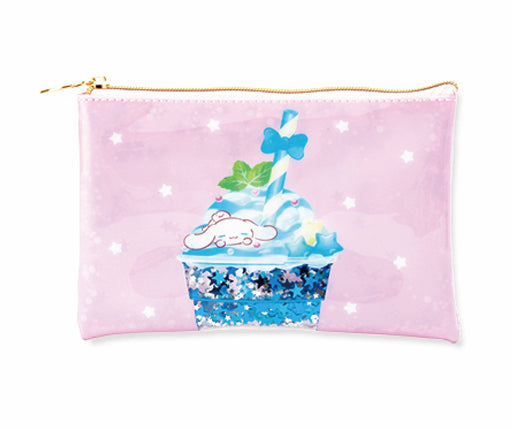 Japan Sanrio Puroland - Dessert Drinks Collection x Cinnamoroll Pouch