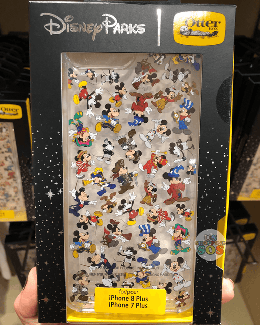 DLR - Mickey Mouse Through the Years - Otter Box Case - iPhone 7/8 Plus