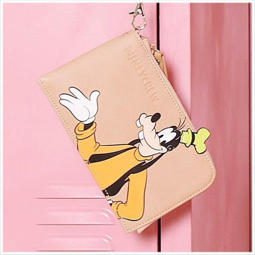Taiwan Exclusive - Disney Mickey & Friends Phone/Wallet Clutch - Goofy