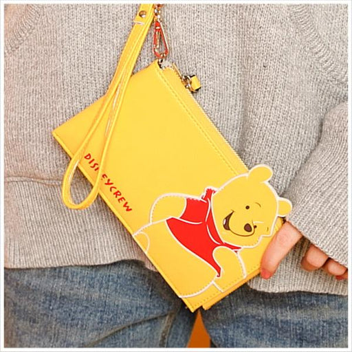 Taiwan Exclusive - Disney Winnie the Pooh & Friends Phone/Wallet Clutch - Winnie the Pooh