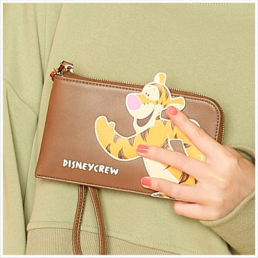 Taiwan Exclusive - Disney Winnie the Pooh & Friends Phone/Wallet Clutch - Tigger