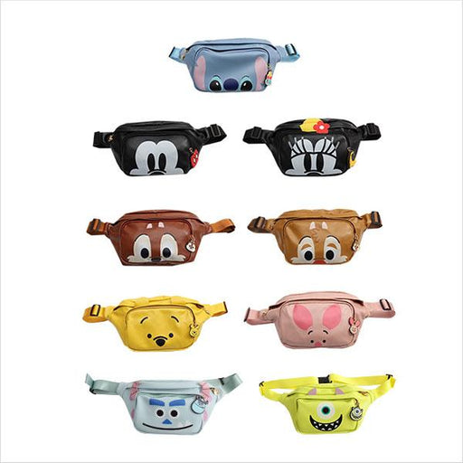 Taiwan Exclusive -  Disney Character Fanny Pack Small Storage