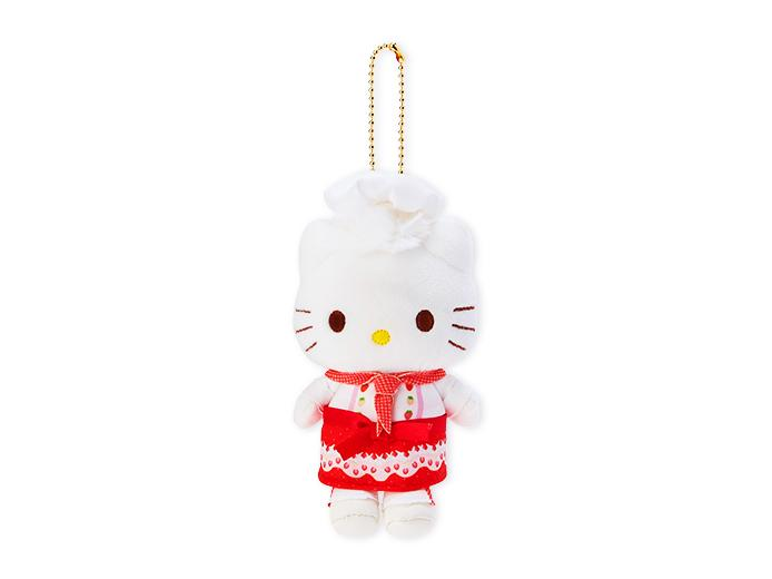 Japan Sanrio Puroland - Sweets Puro - Plush Keychain x Dear Daniel (Strawberry)