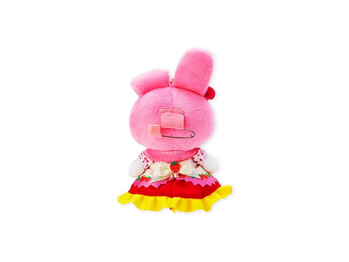 Japan Sanrio Puroland - Sweets Puro - Plush Keychain x My Melody (Strawberry)