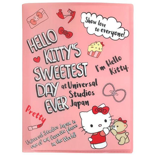 USJ - Hello Kitty's Sweetest Day Ever - 6 Pocket Clear File