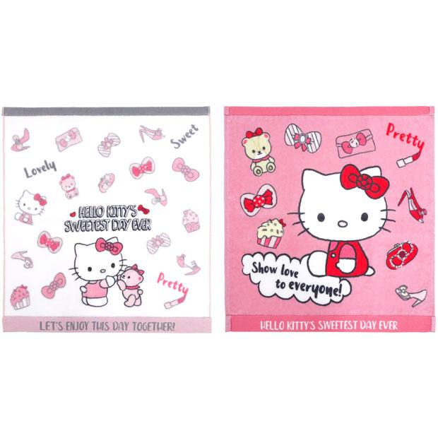USJ - Hello Kitty's Sweetest Day Ever - Hand Towel Set (2 pieces)