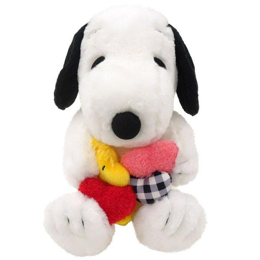 USJ - Snoopy Romance - Plush Toy (Snoopy & Woodstock)