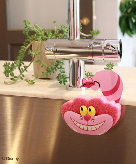 JP x Disney - Sponge & Holder Set - Cheshire Cat