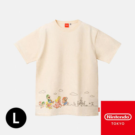 Japan Nintendo - Super Mario Family Life - T-Shirt - Adult L Size