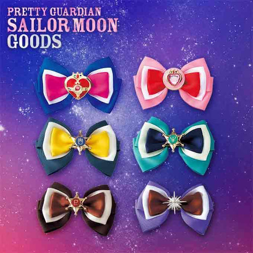 USJ - Pretty Guardian Sailor Moon - Ribbon Hair Clip (Moon & Outer Solar System Guardians)