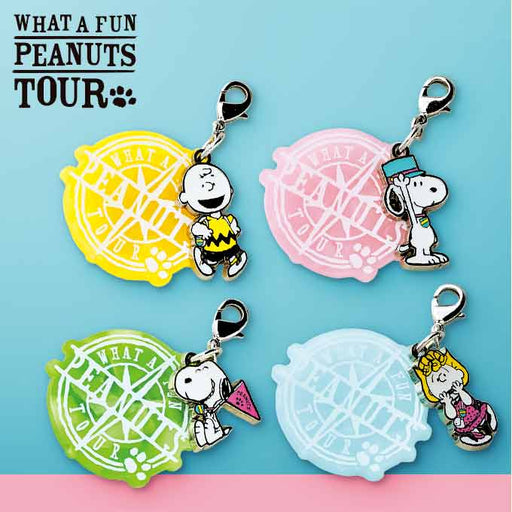 USJ - What A Fun Peanuts Tour - Snoopy Charm Set of 4