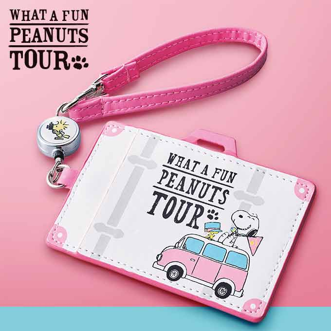 USJ - What A Fun Peanuts Tour - Snoopy Pass Case
