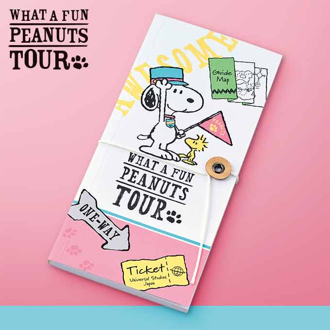 USJ - What A Fun Peanuts Tour - Snoopy Note