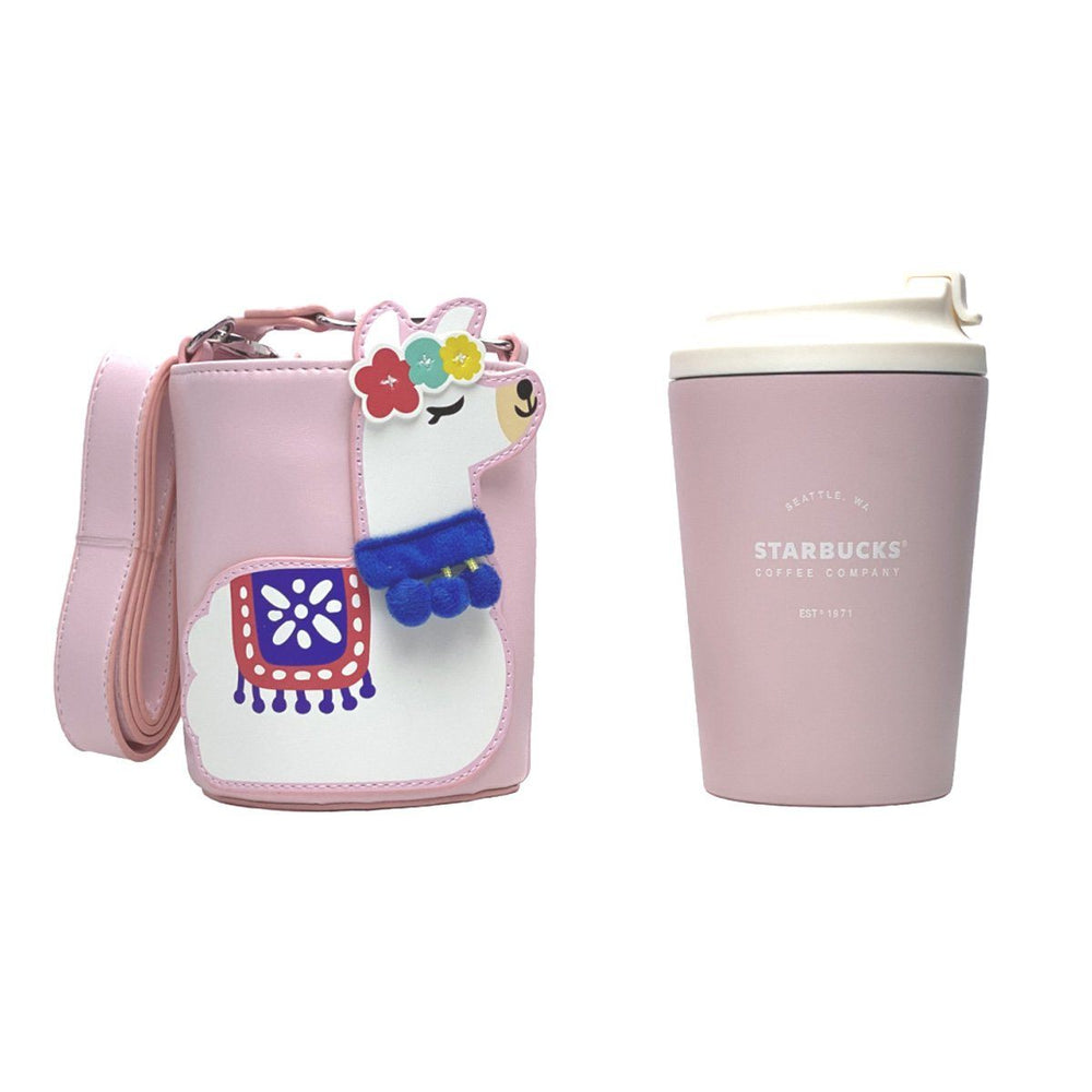 Starbucks China - Summer Exotic Beauty - Alpaca Cover with Stainless Steel Tumbler 390ml