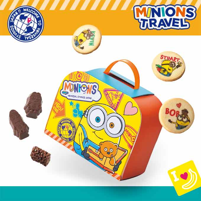 USJ - Minions Travel - Assorted Sweets Box
