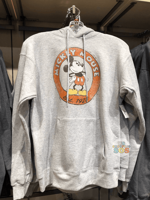 "DLR - Mickey Mouse Through the Years - Classic ""Mickey Mouse Est 1928"" Hoodie"