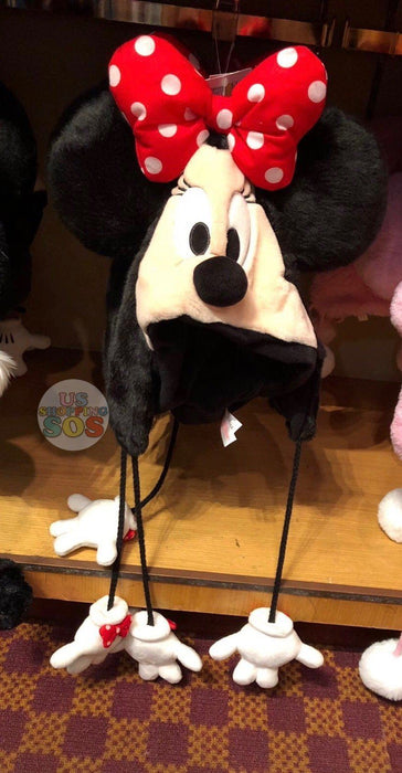 TDR - Fluffy Hat - Minnie Mouse