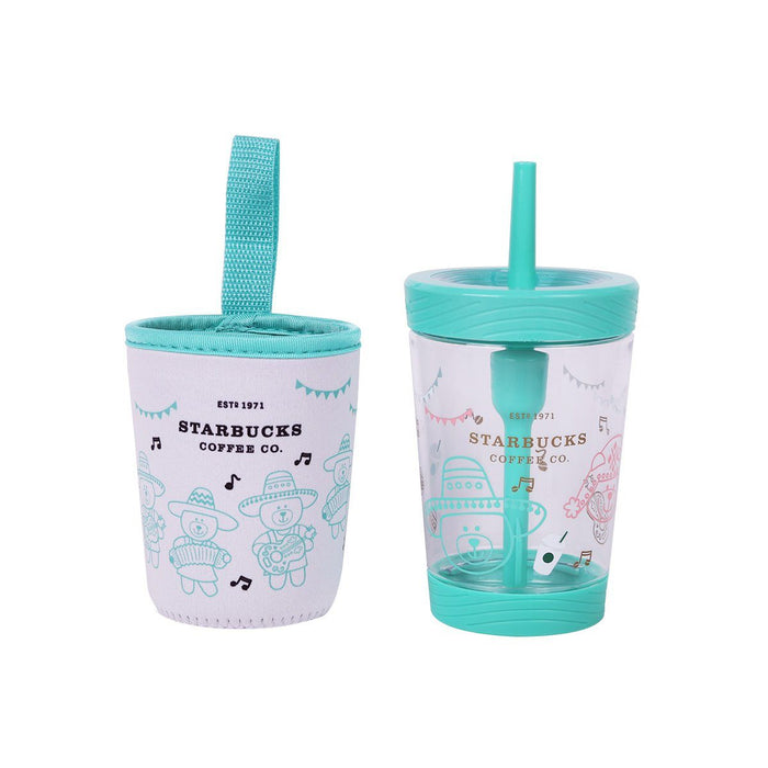 Starbucks China - Summer Exotic Beauty - Contigo Music Bearista Team Sipper Cup 500ml