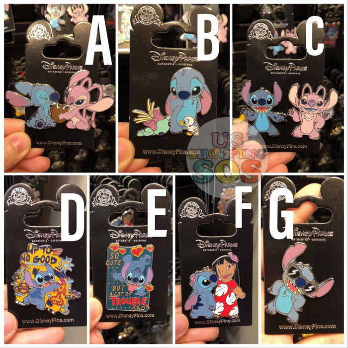 SHDL - Pins x Stitch Collection