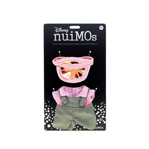 HKDL - nuiMOs Outfit x Sun Visor, Pink Color Top and Overalls Pant Set