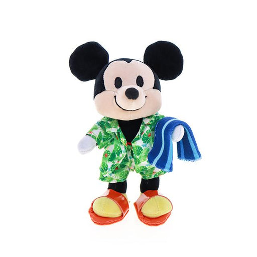 HKDL - nuiMOs Outfit x Tropical Printed Beach Jacket, Beach Shorts, Sandals and Towel Set
