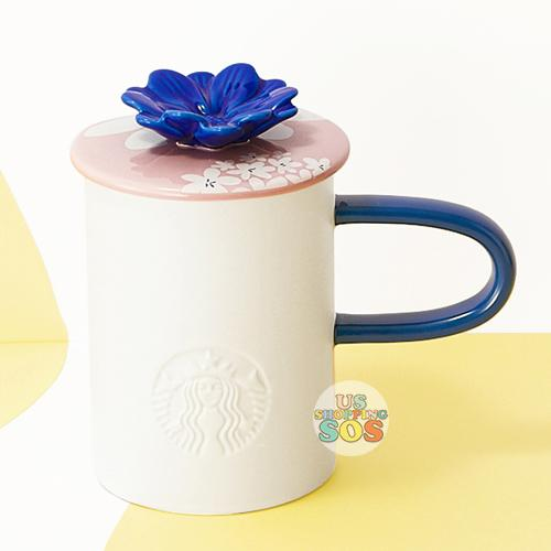 Starbucks China - Summer Blossom 2020 - Splendid Flower Pink Lid Mug 414ml