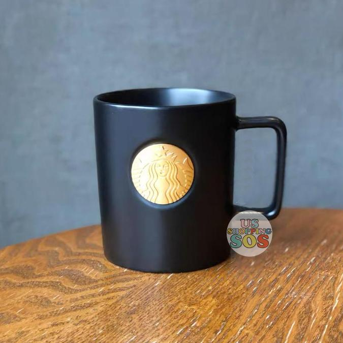 Starbucks China - Christmas Time 2020 Dark Bling Series - Bronze Logo Mug 414ml