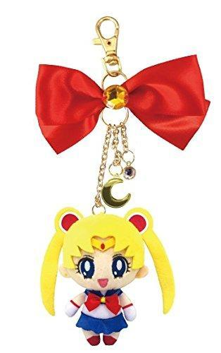 Sailor Moon × My melody colabo Bag Charm Limited LUNA MOON Plush keyring
