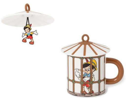 "Japan Francfranc - ""Pinocchio"" Collection - Pinocchio Mug & Cup Cover Bird Cage"