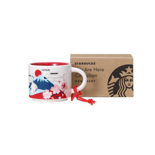 Starbucks Japan - You Are Here Japan Ornament/Demitasse Cup 59ml (Original)