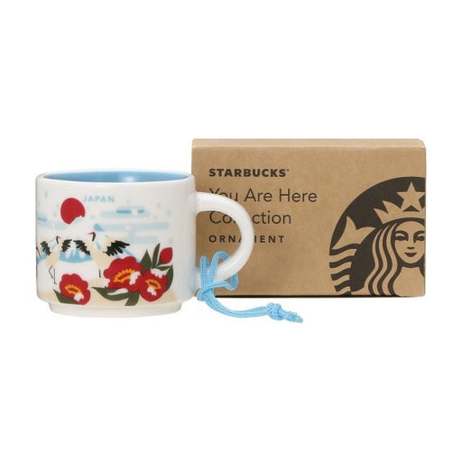 Japan Starbucks - You Are Here Japan Ornament/Demitasse Cup (Limited Time Released Winter Version)