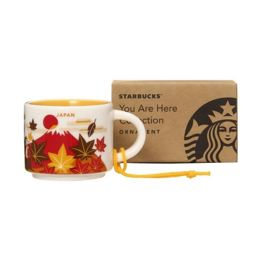 Starbucks Japan - You Are Here Japan Ornament/Demitasse Cup 59ml (Autumn Version)