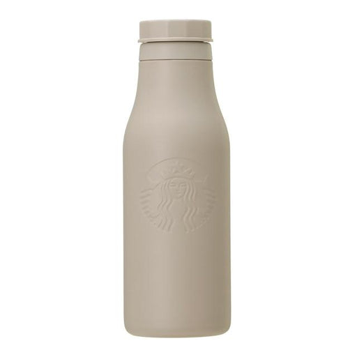 Starbucks Japan - Stainless Logo Bottle Matte Greige 473ml
