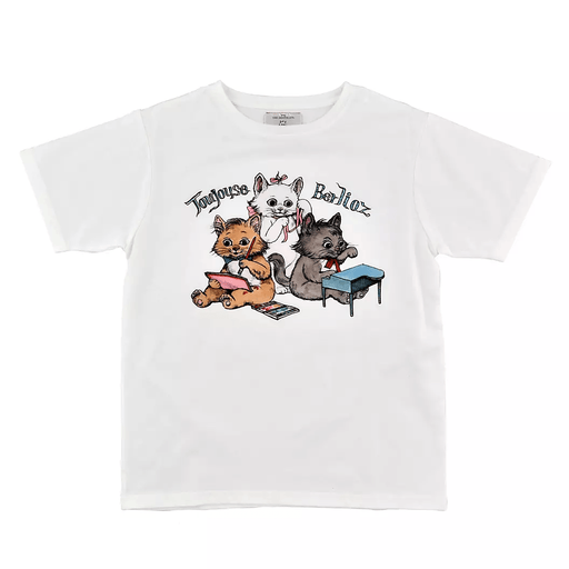 JDS - Disney ARTIST COLLECTION by YUKO HIGUCHI - Marie, Berlioz, Toulouse T Shirt For Adults