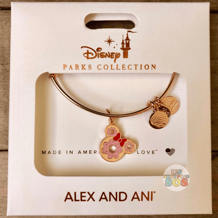 DLR - Disney Parks Food - Alex & Ani Bangle - Minnie Donut