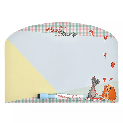 JDS - Retro Check Collection - Lady and the Tramp Whiteboard