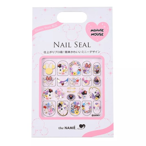 JDS - Nail Sticker x Minnie