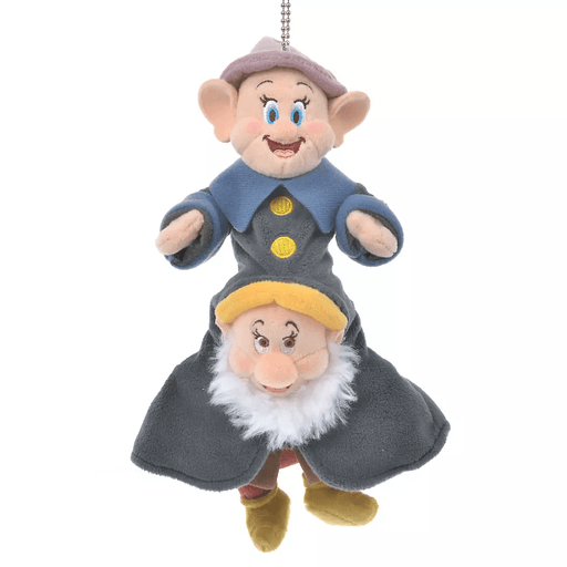 JDS - Snow White and the Seven Dwarfs Collection - Plush Keychain x Dopey & Bashful
