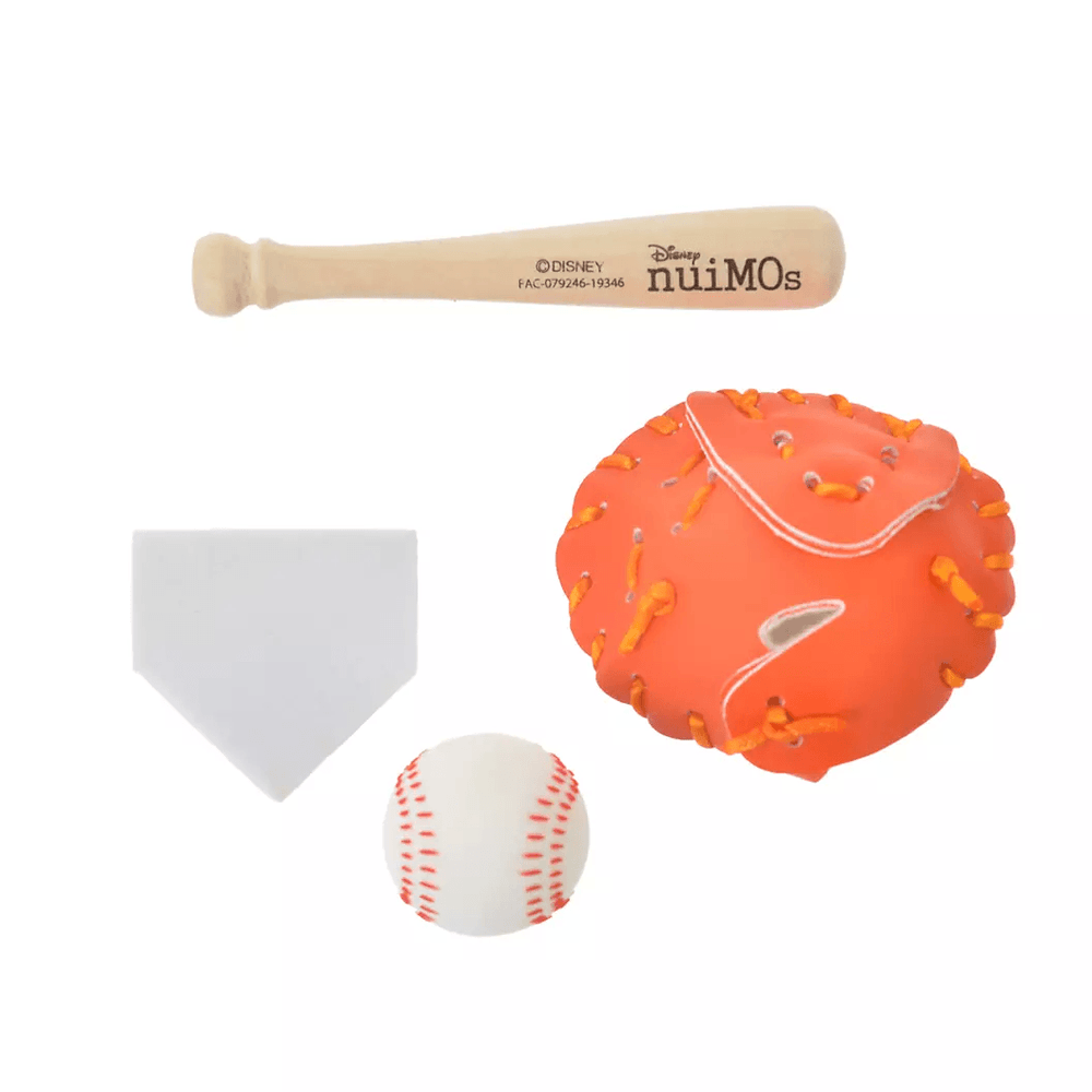 JDS - nuiMOs Plush Accessories Sports Set Baseball