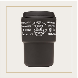Japan Exclusive - Pokémon Cafe Logo RIVERS Wall Mug (Black)