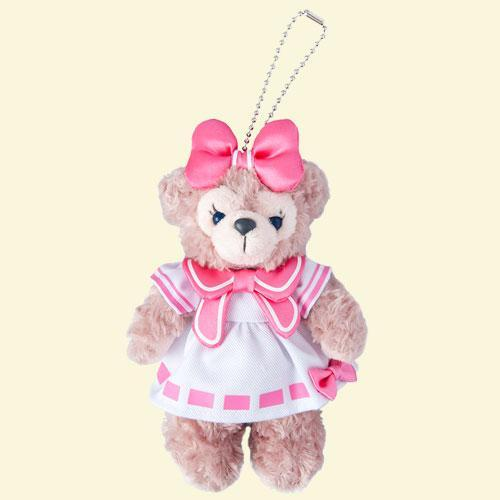 TDR - Duffy & Friends - Plush Keychain x ShellieMay with Red Bow