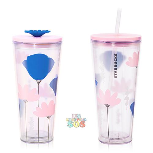 Starbucks China - Summer Blossom 2020 - Summer Flower Bloom Pink Cold Cup 591ml